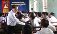 Para anggota MN melakukan kontak dengan para pemilih sebelum Persidangan ke-10 MN angkatan ke-13