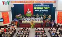 Kongres Partai Komunis provinsi-provinsi Bac Giang dan Kon Tum