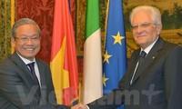 Mendorong hubungan Italia-Vietnam ke ketinggian baru