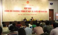 Ada banyak isi baru dalam Persidangan ke-10, MN Vietnam angkatan ke-13