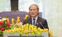 Acara pembukaan Persidangan ke-10 MN angkatan ke-13