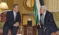 Presiden Palestina mengimbau kepada PBB supaya melindungi warga
