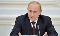 Presiden Rusia mengimbau kepada komunitas internasional supaya bekerjasama  untuk menangani masalah-masalah bersama