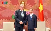 Ketua MN Vietnam, Nguyen Sinh Hung menerima delegasi Parlemen Eropa