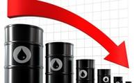 Harga minyak kasar di dunia turun drastis