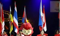 Acara penutupan ASEAN Para Games 2015