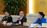 Acara penutupan persidangan ke-43 Komite Tetap MN Vietnam