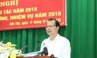 Semua provinsi dan kota di daerah Nam Bo Barat supaya mendorong cepat restrukturisasi produksi pertanian
