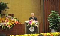 Rapat umum memperingati ultah ke-70 Hari Pemilu pertama MN Vietnam