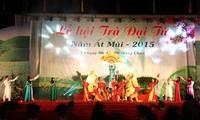 Festival teh Dai Tu di provinsi Thai Nguyen