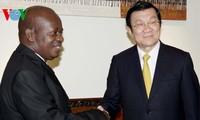 Presiden Vietnam, Truong Tan Sang melakukan pertemuan dengan Ketua Parlemen Tanzania