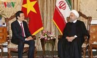 Mendorong lebih lanjut lagi hubungan kerjasama persahabatan Vietnam-Iran