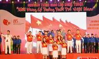 Berlangsung aktivitas-aktivitas praksis untuk memperingati ultah ke-85 berdirinya Liga Pemuda Komunis Ho Chi Minh