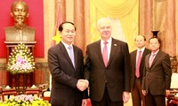 Presiden Vietnam, Tran Dai Quang menerima Dubes dua negara Federasi Rusia dan Jepang