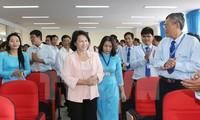 Meningkatkan kualitas pendidikan Sekolah Tingi Perguruan Teknik Vinh Long