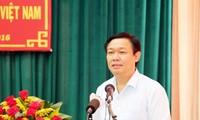 Deputi PM Vuong Dinh Hue meminta untuk memperkuat pengembangan sosial-ekonomi daerah Nam Bo Barat