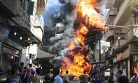 Ketegangan sedang mengalami eskalasi di kota Aleppo