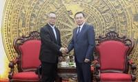 Wakil Inspektor Jenderal Pemerintah Vietnam menerima delegasi Komisi Pencegahan dan Pemberantasan Korupsi Malaysia