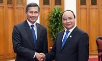 PM Nguyen Xuan Phuc menerima Menlu Singapura, Vivian Balakrishnan