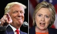 Miliarder Donald Trump mempersempit kesenjangan dengan Hillary Clinton
