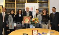 Memperkuat kerjasama antara Front Tanah Air Vietnam dan Federasi Kesetaraan Sosial Jerman