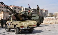 Tentara Suriah menduduki kembali kabupaten Masaken Hanano, Aleppo sebelah Timur