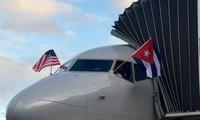 Misi penerbangan komersial pertama dari AS mendarat di Kuba