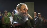 Pemimpin negara-negara melayat dan menghadiri upacara belasungkawa Almarhum Pemimpin Kuba, Fidel Castro