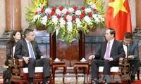 Presiden Viertnam, Tran Dai Quang menerima Kepala Badan Intelijen Negara Bulgaria