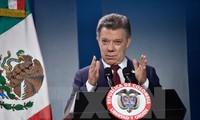 Hadiah Nobel Perdamaian tahun 2016 menyemangati proses perundingan damai di Kolombia
