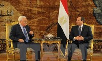 Mesir dan Palestina membahas proses perdamaian Timur Tengah