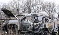 """Ukraina melakukan investigasi terhadap tewasnya pengamat OSCE menurut arah """"serangan teror"""""""