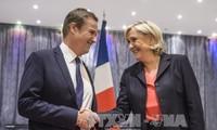 """Capres Le Pen bersekutu dengan pemimpin Partai """"Negara Perancis bangkit"""""""