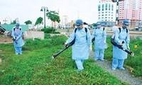 Kota Hanoi mencanangkan kampanye pembersihan lingkungan