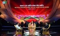 Temu pergaulan dengan para tipikal dalam gerakan belajar dan bertindak sesuai dengan fikiran, moral dan gaya hidup Ho Chi Minh