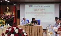 VOV dan kantor-kantor perwakilan diplomatik Vietnam memperkuat kerjasama