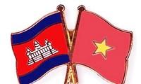 Para pemimpin tingkat tinggi Vietnam dan Kamboja bertukar surat ucapan selamat sehubungan dengan peringatan ultah ke-50 Penggalangan hubungan diplomatik