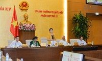 Acara penutupan persidangan ke-12 Komite Tetap MN Vietnam