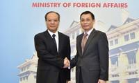 Konferensi periodik ke-6 tentang evaluasi situasi kerjasama antar-kementerian, instansi dan daerah Vietnam dan provinsi Guangdong