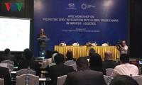 SOM 3 – APEC 2017: Mendorong badan usaha ikut serta dalam rantai pemasokan jasa logistik global