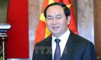 Presiden Vietnam, Tran Dai Quang: Mengembangkan hubungan istimewa Vietnam-Laos menurut pedoman berkualitas, efektif dan praksis