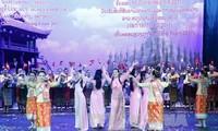 Rapat umum khidmat sehubungan dengan peringatan Tahun Solidaritas dan Persahabatan Vietnam-Laos tahun 2017