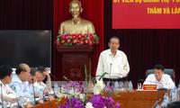 Deputi PM Vietnam, Truong Hoa Binh melakukan kunjungan kerja di Provinsi Lai Chau