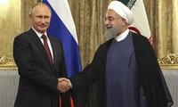 Presiden Rusia, Vladimir Putin melakukan kunjungan resmi di Iran