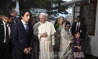 Paus Franciskus mengakhiri perlawatan di Asia