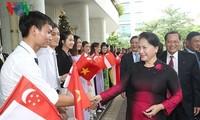 Ketua MN Vietnam, Nguyen Thi Kim Ngan mengakhiri kunjungan resmi di Singapura dan Australia