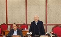 Sekjen KS PKV, Nguyen Phu Trong meminta untuk melakukan dengan baik pekerjaan kekaderan