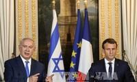 Pemimpin Perancis dan Israel melakukan pembicaraan untuk mengusahakan jalan ke luar bagi proses perdamaian Timur Tengah