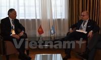 Vietnam dan Argentina bermufakat mendorong pertukaran dagang