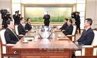 "Dua bagian negeri Korea akan melakukan pawai bersama di bawah ""bendera persatuan"" pada acara pembukaan Olimpiade PyeongChang"